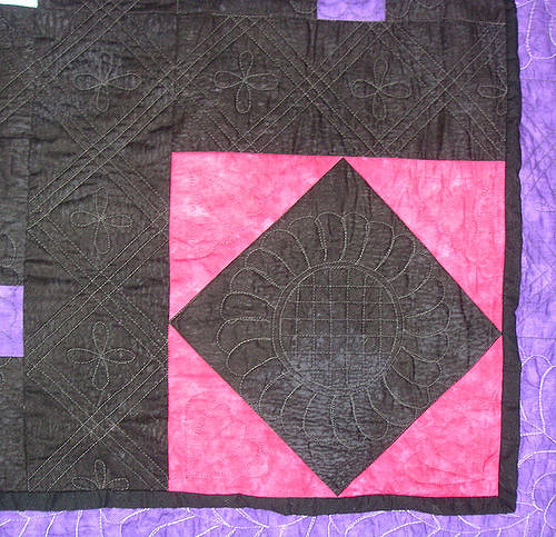 Photo of an Amish quilt