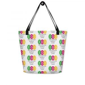 All-Over Print Beach Bag with inside pocket