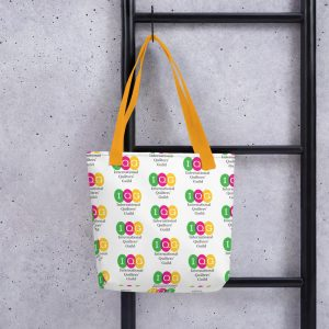 Tote bag with all-over print