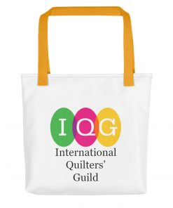 Tote bag with single logo
