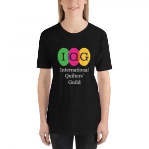 Dark-colored Short-Sleeve Unisex T-Shirt