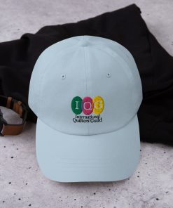 Light-colored baseball hat